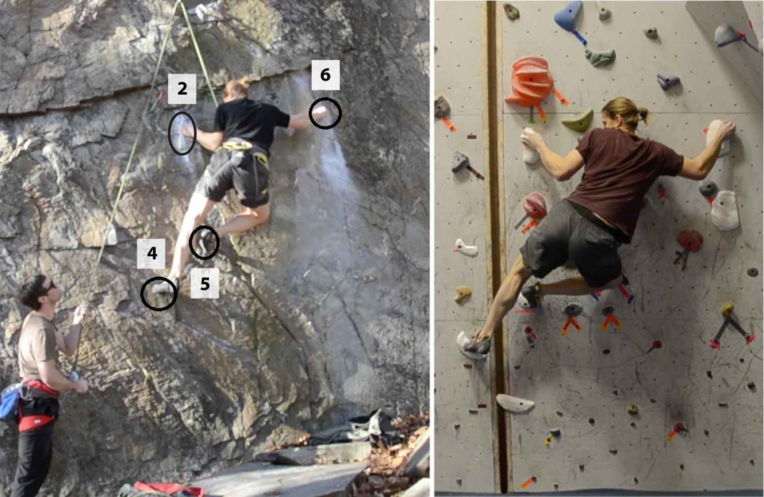 Expert Rock Climbing Routes Recreated Indoors Using 3 D Modeling And Digital Fabrication