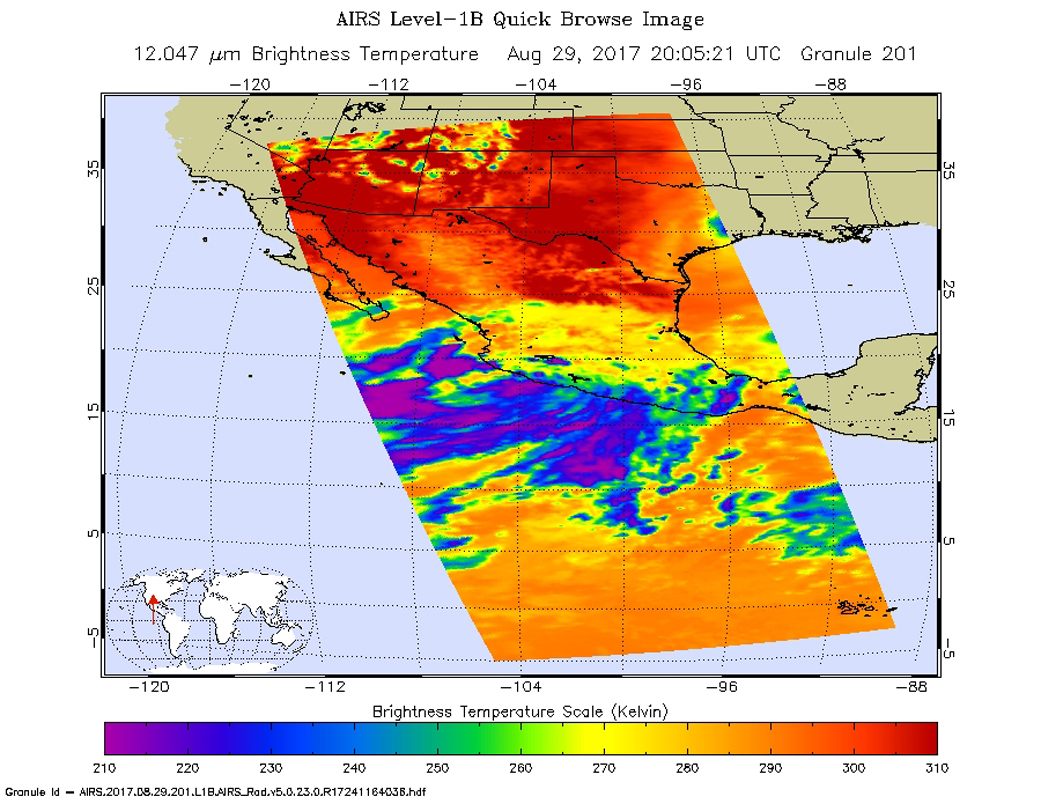 Nasa Sees 14th Eastern Pacific Ocean Potential Tropical Cyclone