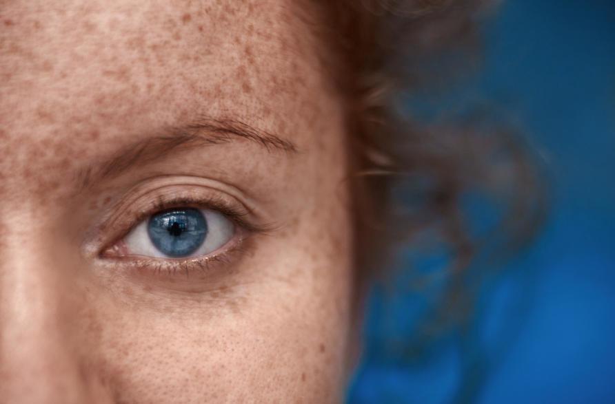brown eyed redhead