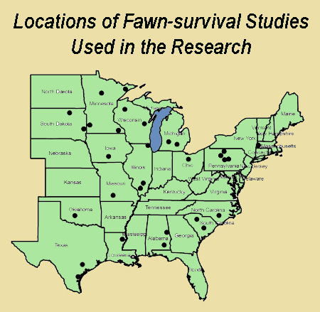 Deer Fawns More Likely To Survive In Agricultural Landscapes Than Forest