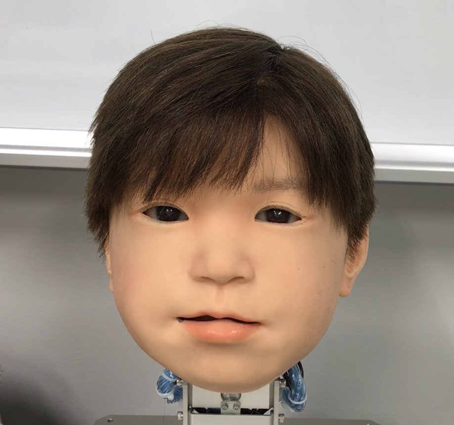 Researchers Make Android Child S Face Strikingly More Expressive