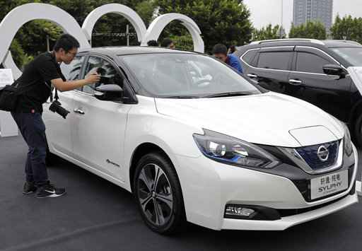 Nissan Launches China Focused Electric Car