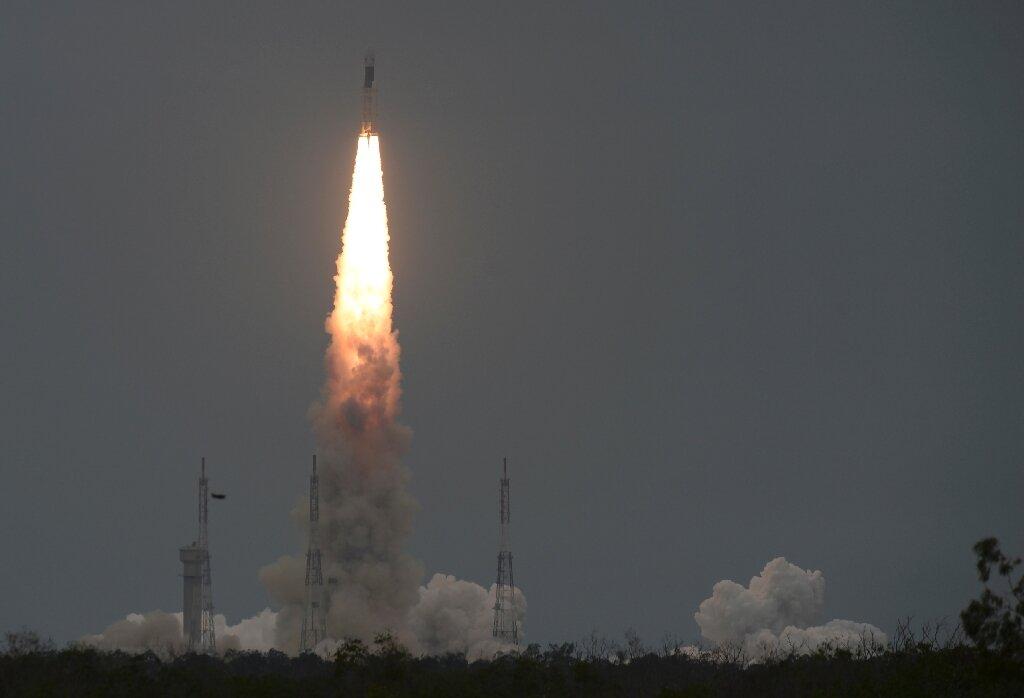 India's Moon probe enters lunar orbit - Phys.org image