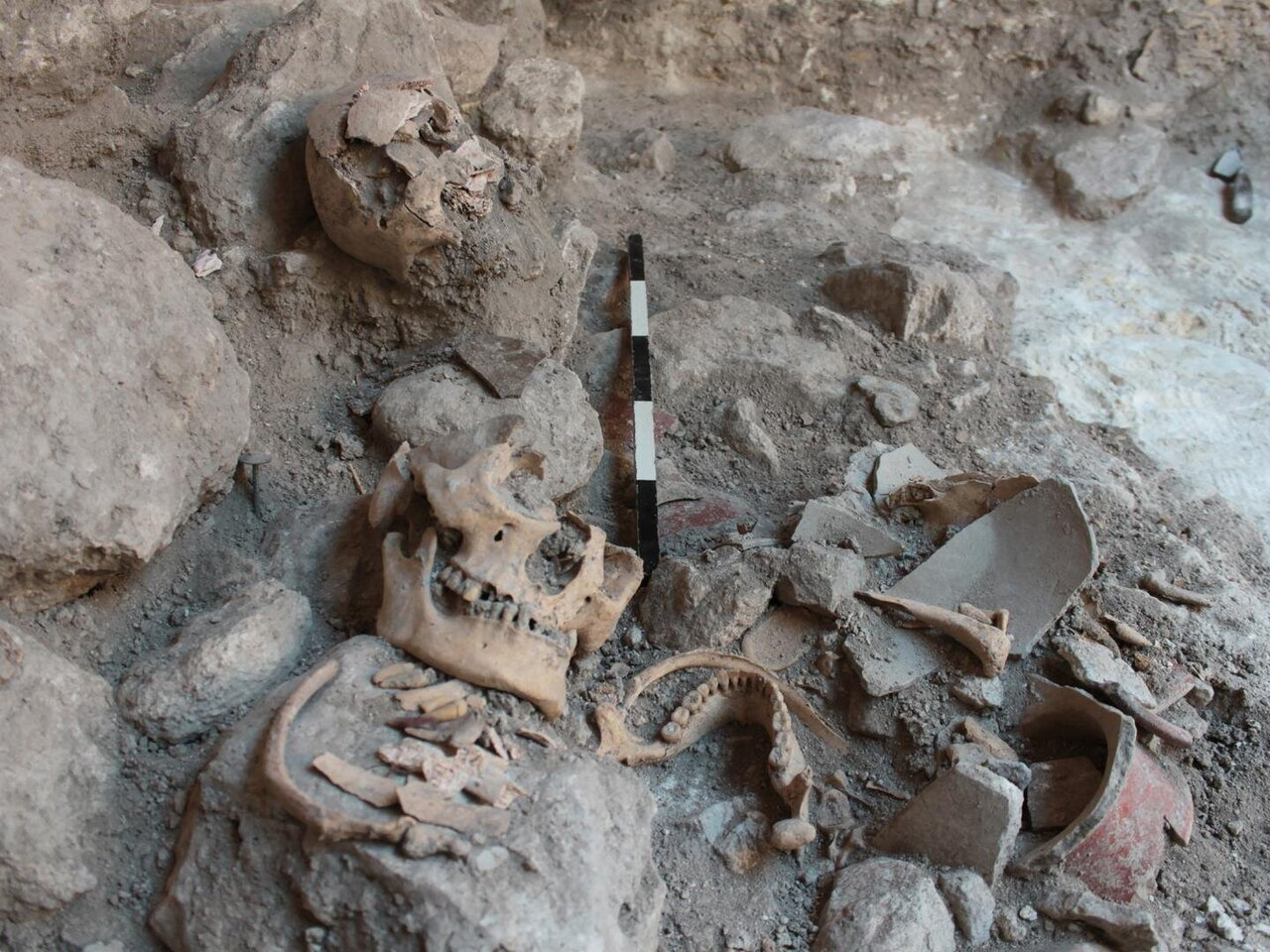 Isotope analysis points to Mayan prisoners of war