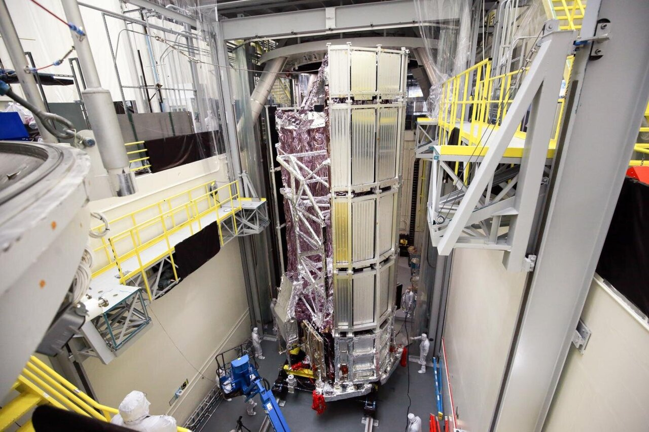James Webb Space Telescope emerges successfully from final thermal vacuum test