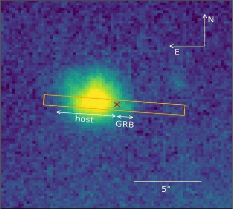 Astronomové prozkoumali hypernovu spojenou se zábleskem gama záření
