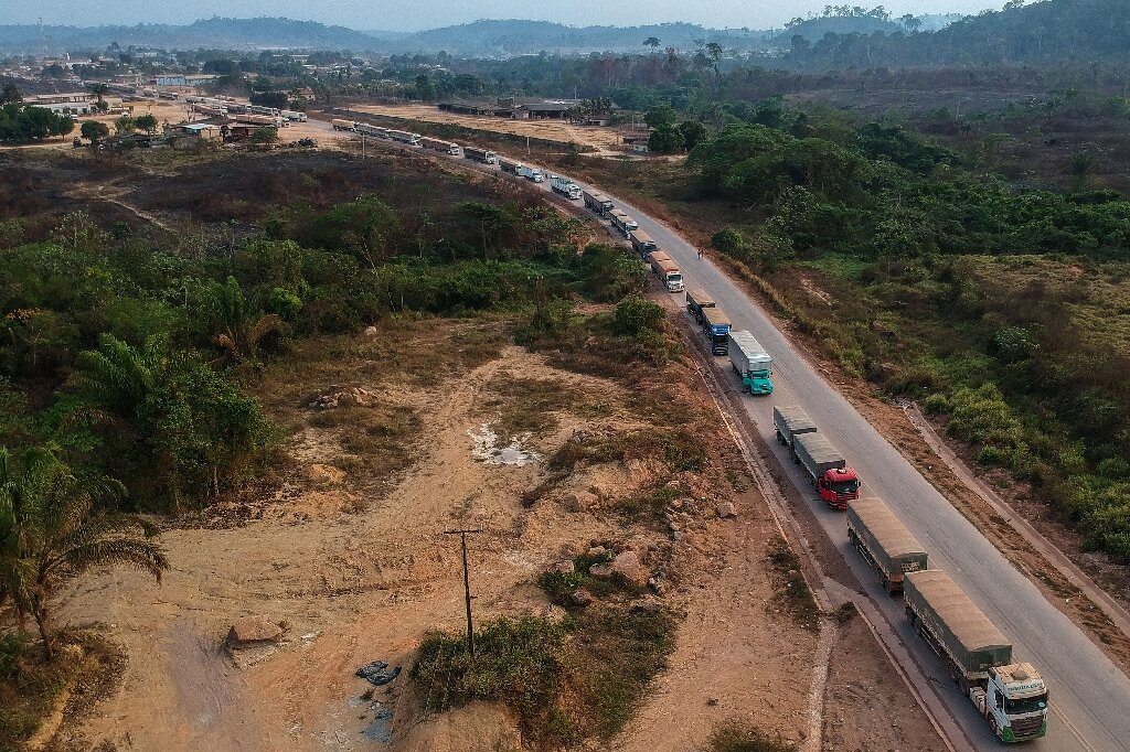 Brazil highways drive Amazon development—and destruction