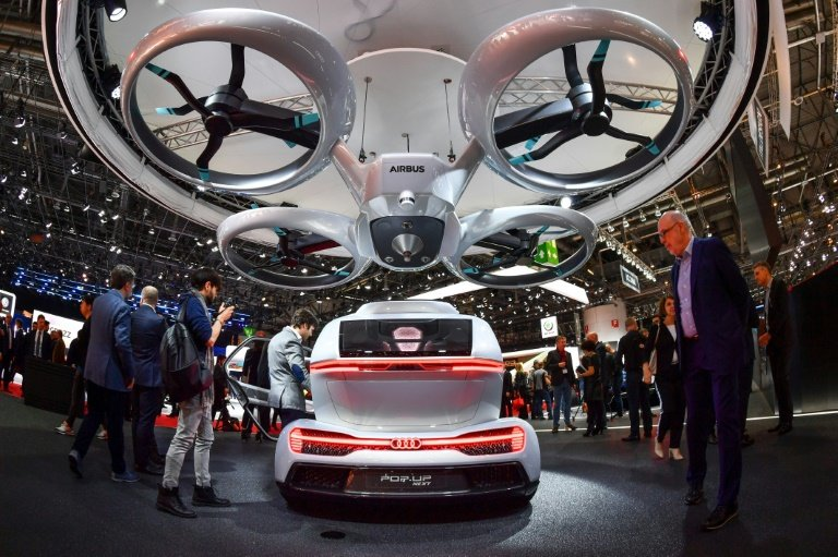 Buzz Grows On Flying Cars Ahead Of Major Tech Show