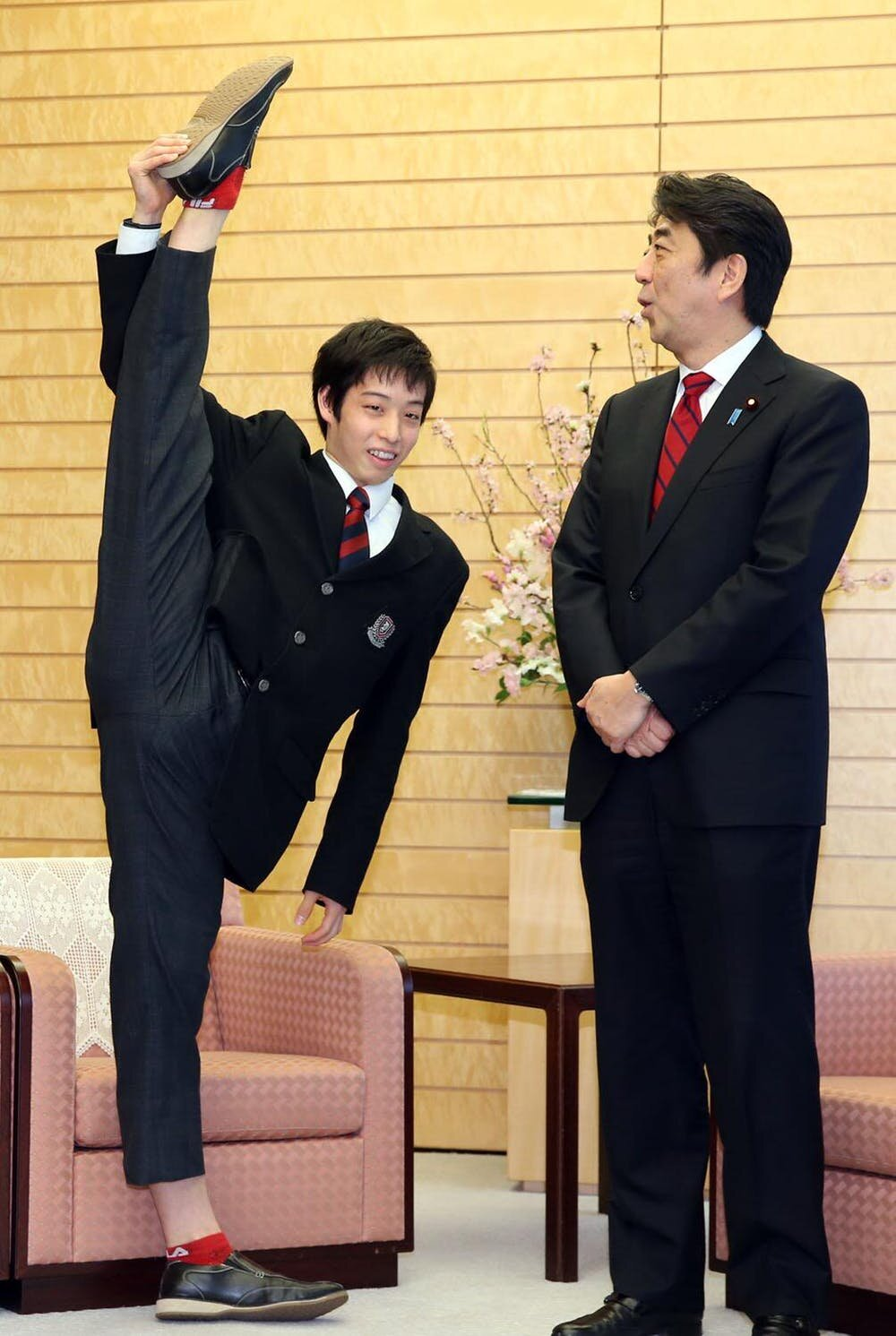 Boys dance too—and in Japan they are celebrated