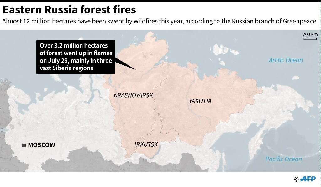 Picture of: Siberia Forest Fires Spark Potential Disaster For Arctic