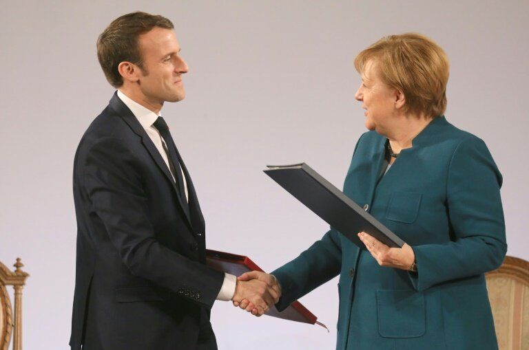 News Media Lobbies Merkel Macron On Copyright Reform