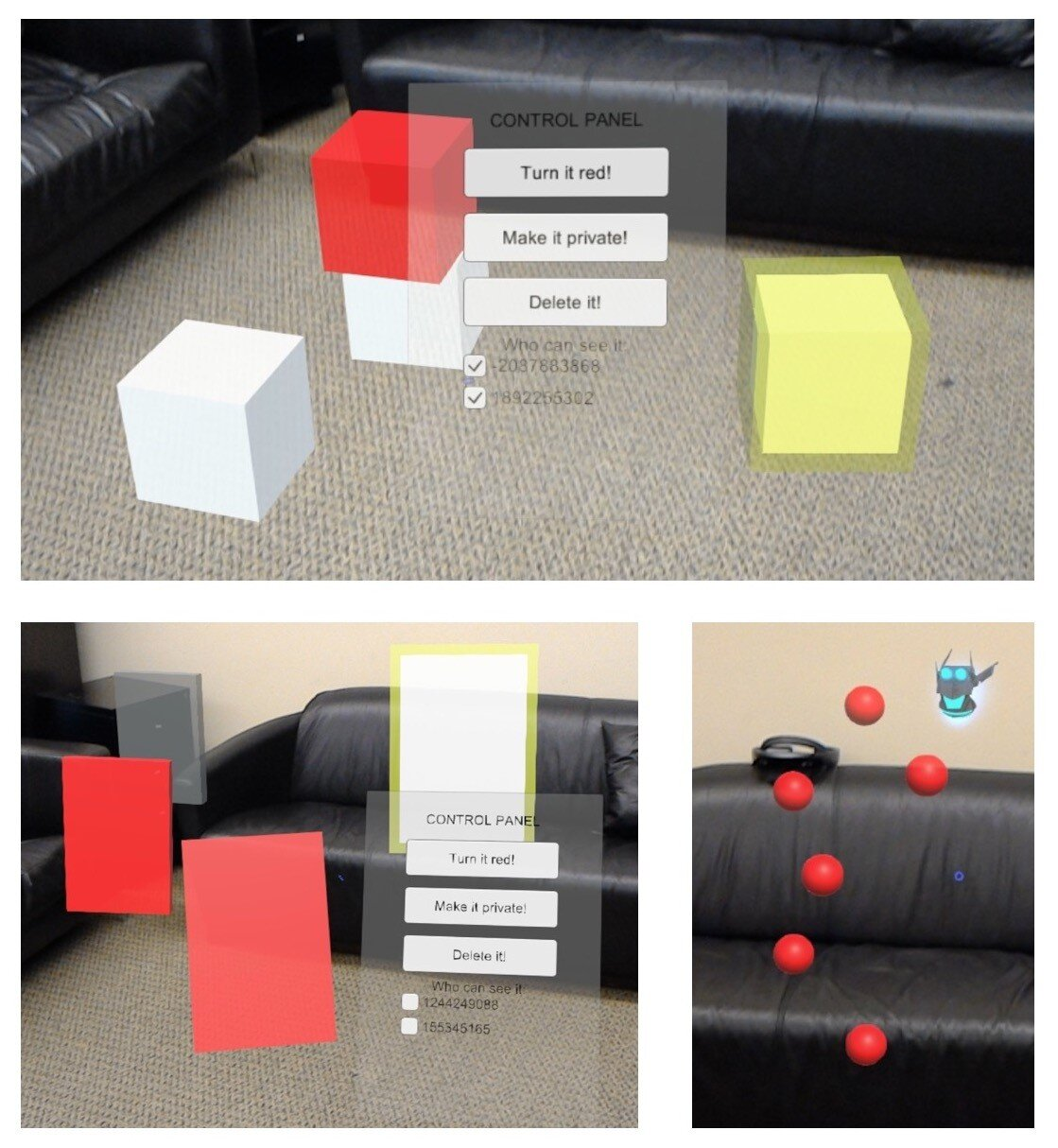 New tools to minimize risks in shared, augmented-reality