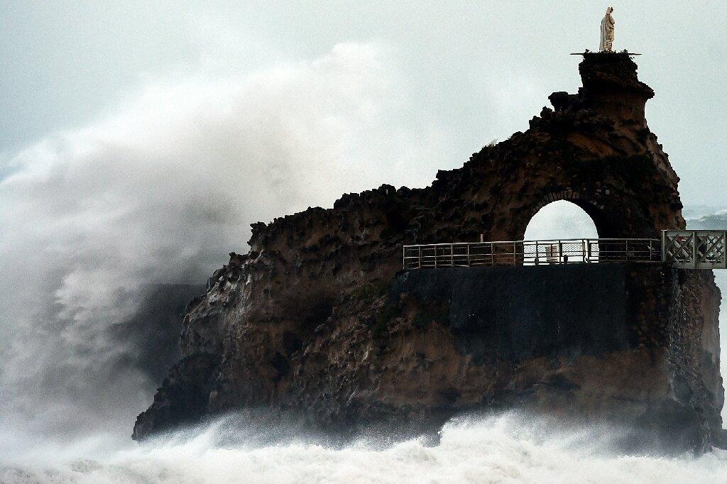 Storm Amelie pummels France with violent winds, downpours