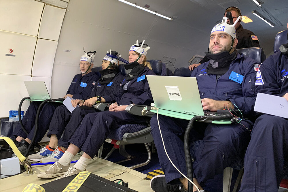 Researchers test brain stimulation in zero gravity