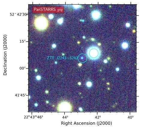 New eclipsing double white dwarf binary discovered
