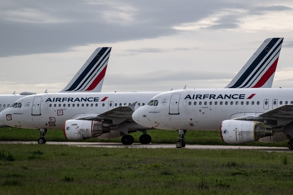 Image of article 'Air France to cut 40% of domestic flights after bailout'