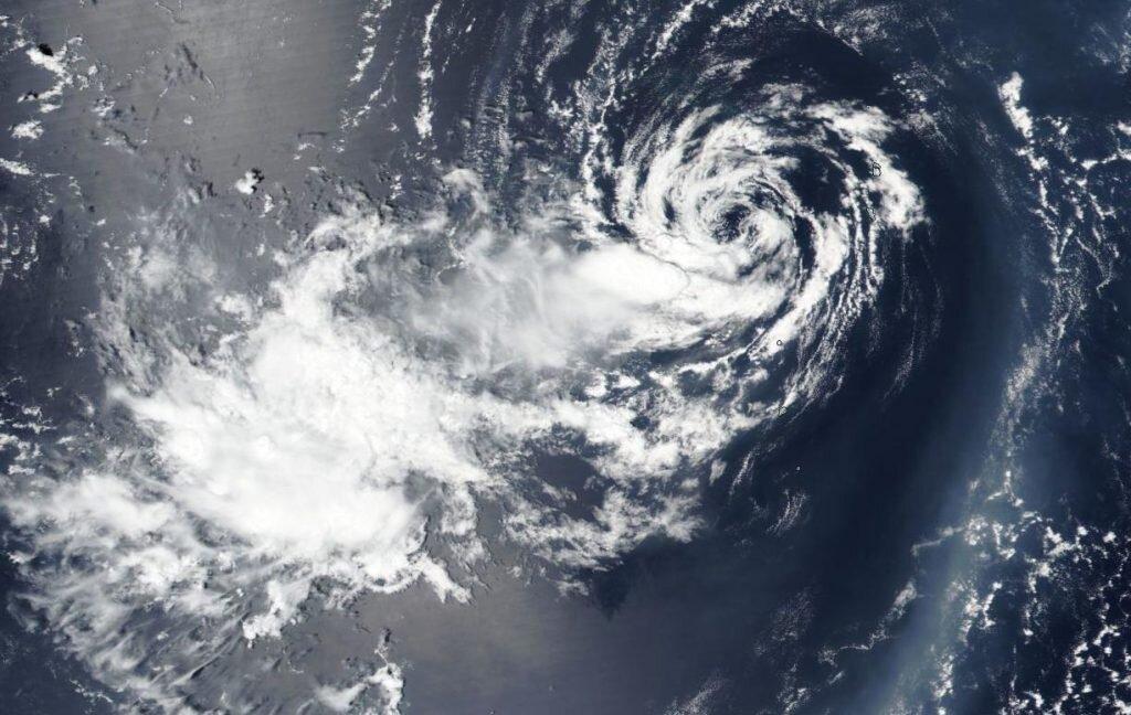 Suomi NPP satellite finds stubborn tropical depression 06W