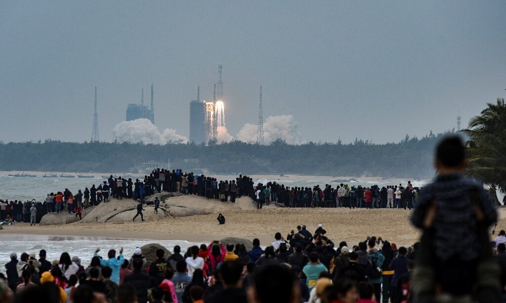 China's new Long March-8 rocket makes first flight