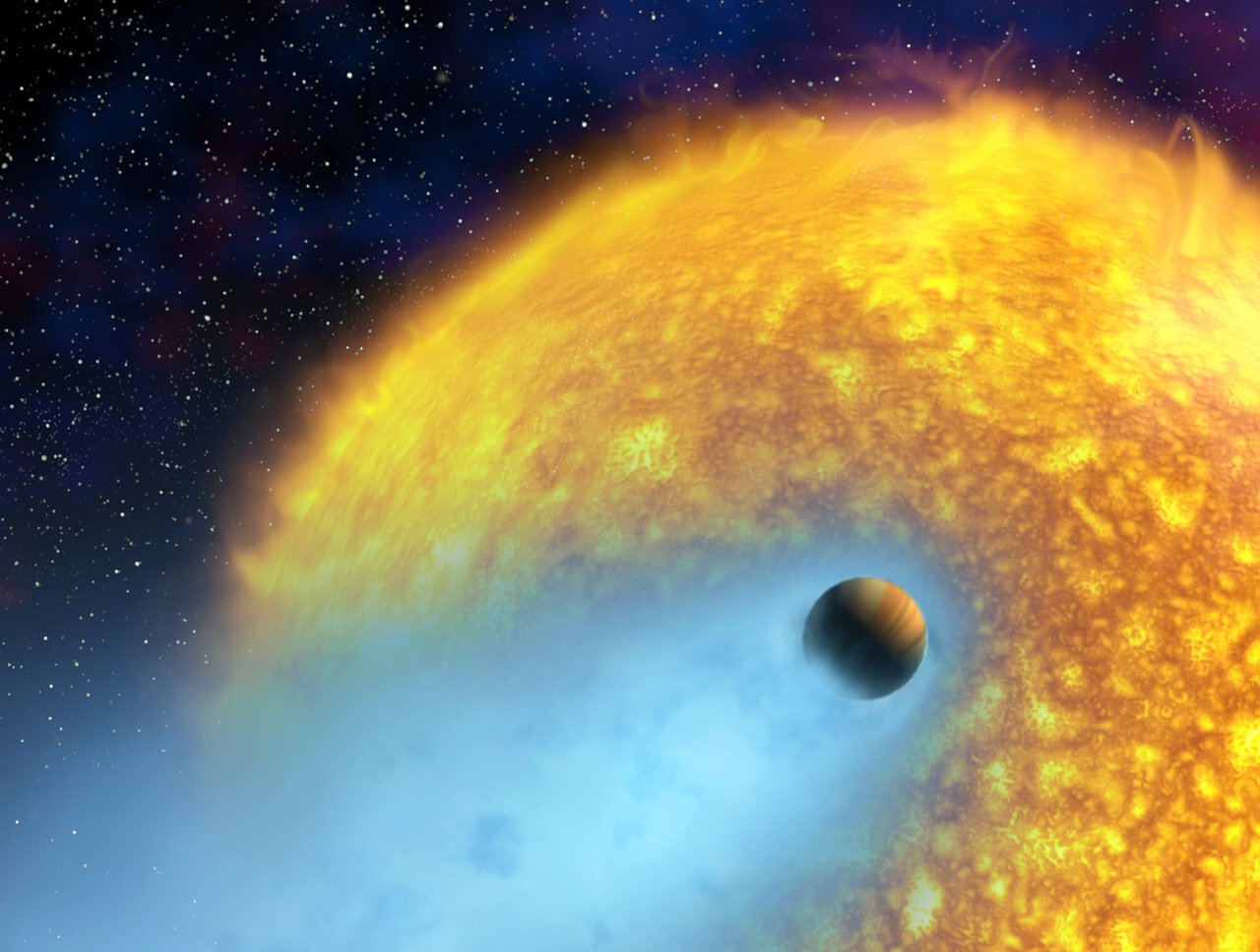 Study finds stellar flares can lead to the diminishment of a planet's habitability