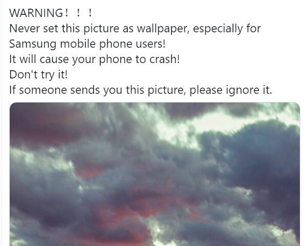 Wallpaper Image Crashing Android Phones