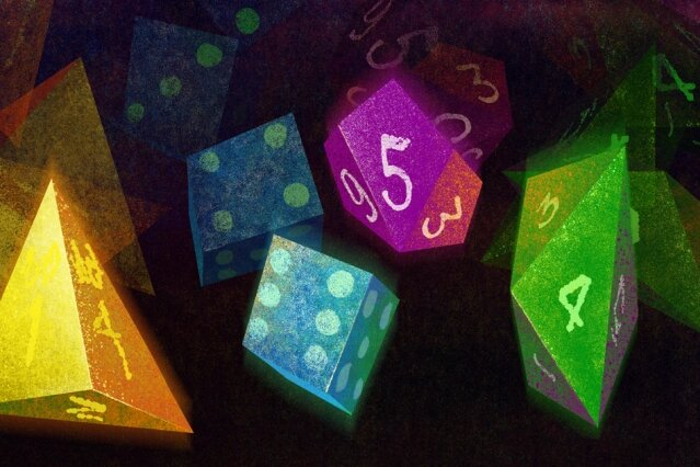 Algorithm quickly simulates a roll of loaded dice