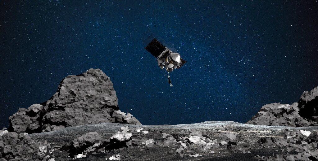 NASA probe Osiris-Rex set to 'kiss' asteroid Bennu in historic mission