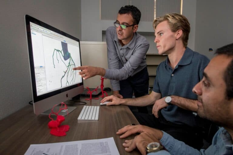 3-D simulations of sneezing, coughing help motivate social distancing