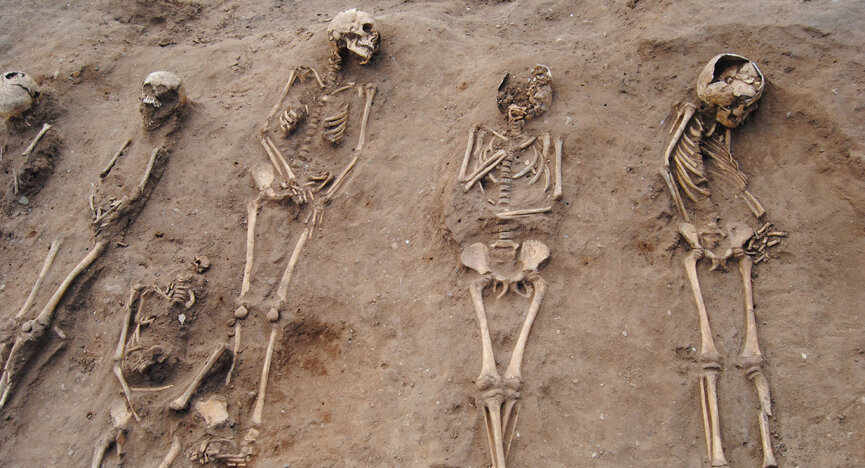 Black Death mass grave discovered at 14th-century monastery hospital