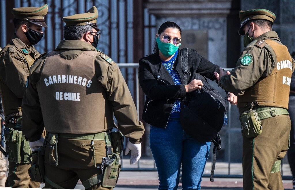 Chile registers new daily record of COVID-19 deaths, cases