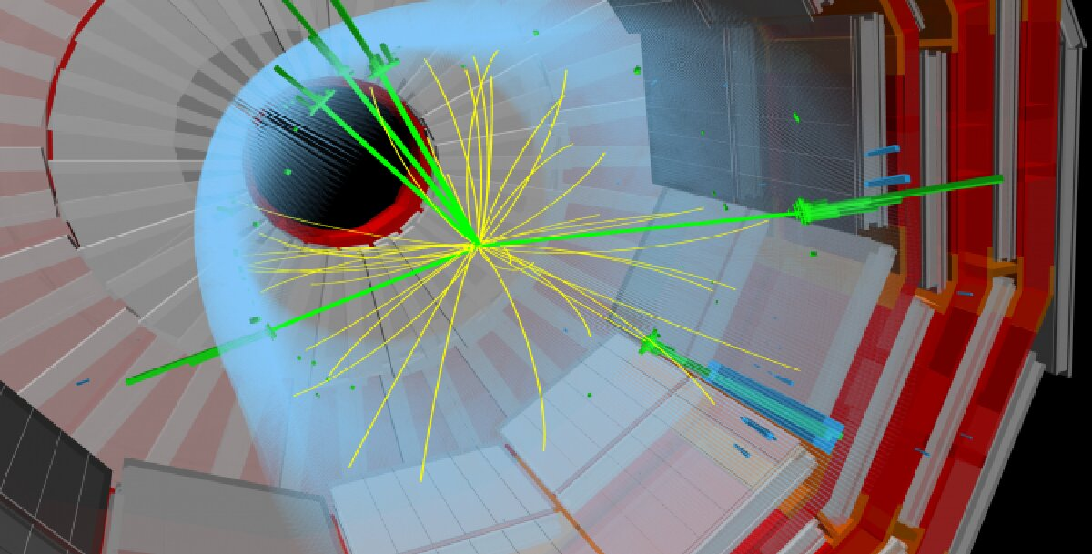 CERN experiment makes first observation of rare events producing three massive force carriers