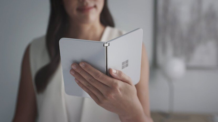 First peek at Microsoft's Surface Duo smartphone