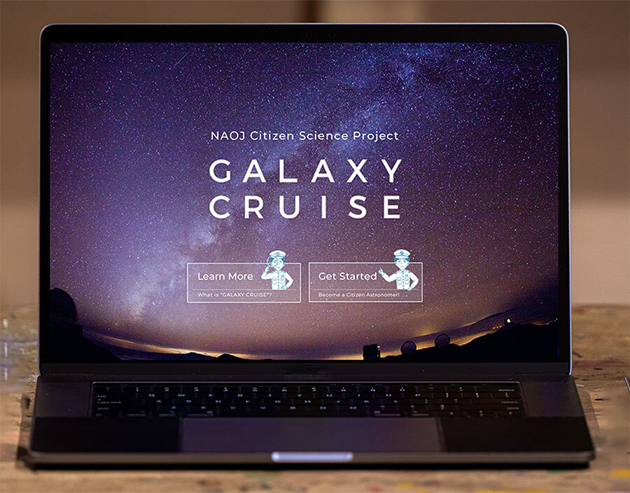 Galaxy Cruise—Your galactic journey as a citizen scientist