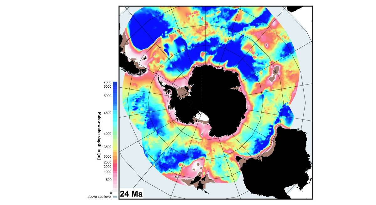 How the seafloor of the Antarctic Ocean is changing—and the climate is following suit