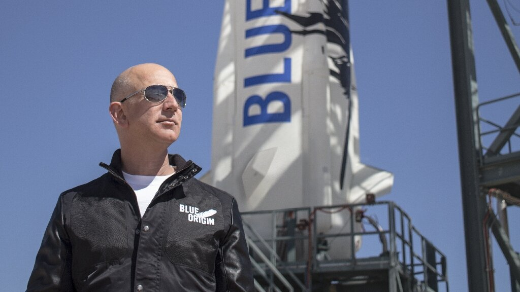 Bezos' Blue Origin conducts successful test flight for tourism rocket