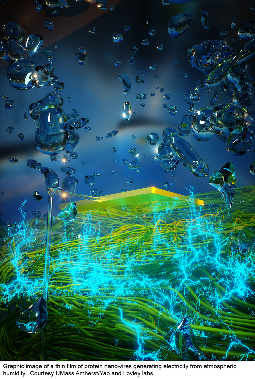 New green technology generates electricity 'out of thin air'