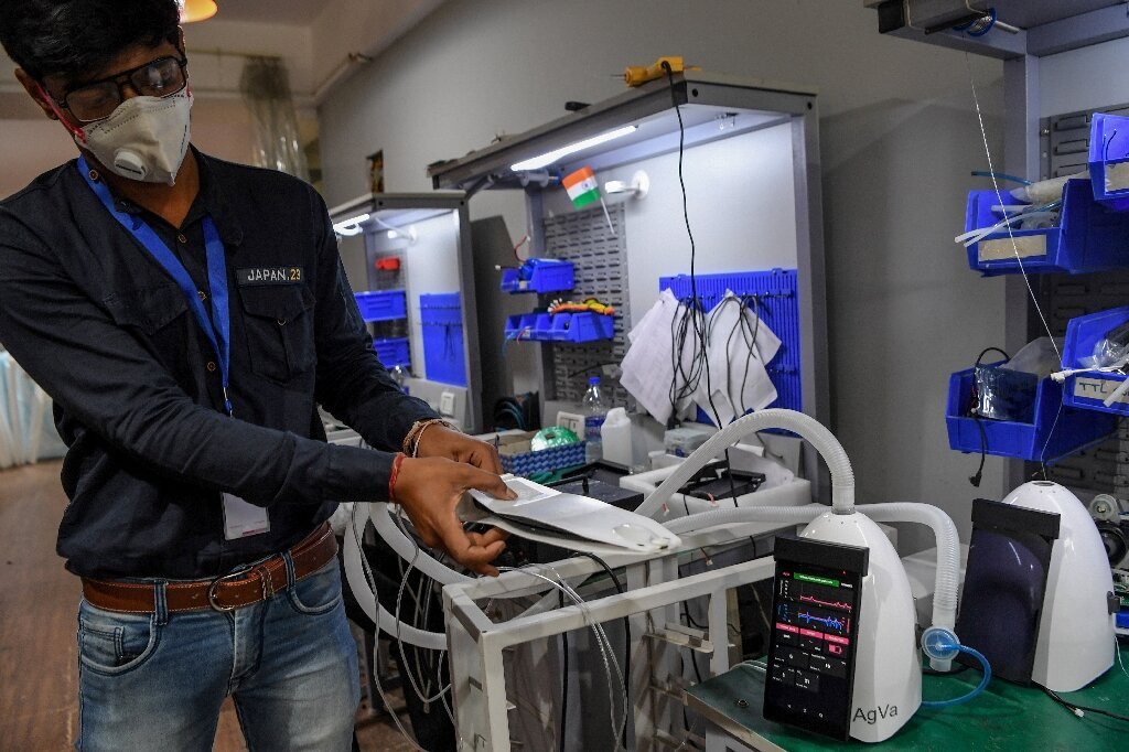 Toaster-sized ventilator from India helps hospitals in virus...