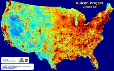 Scientist maps carbon dioxide emissions for entire US to improve environmental policy-making