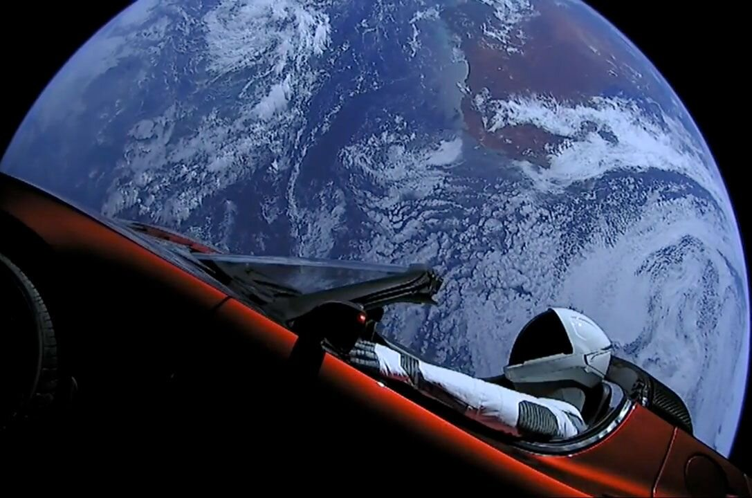 Starman just made his closest approach to Mars