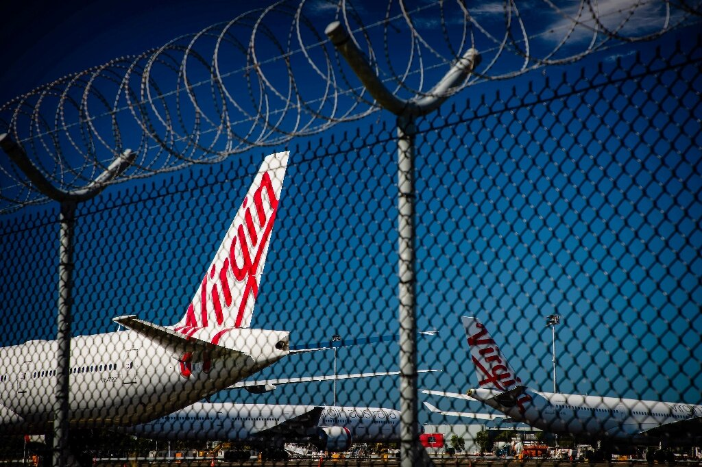 Image of article 'Airport seizes Virgin Australia planes to recoup debt'