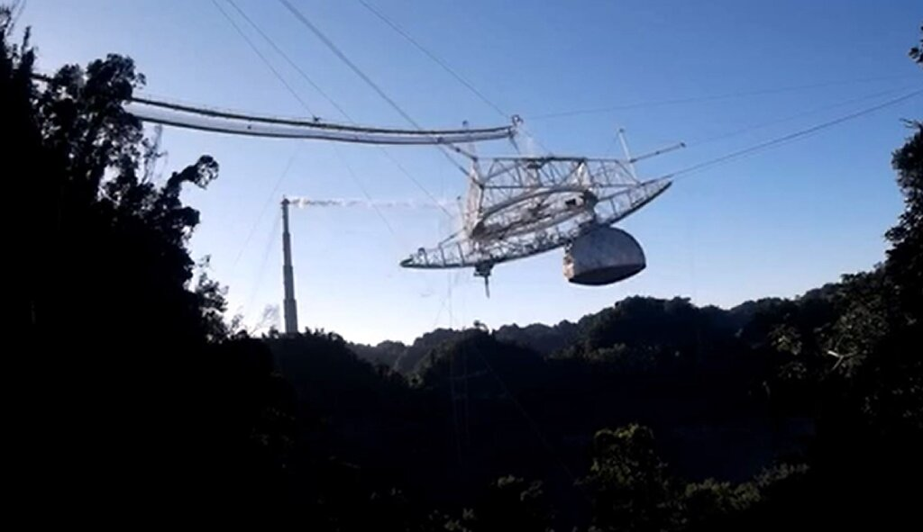 Puerto Rico's Arecibo Observatory 'not closing' after collapse