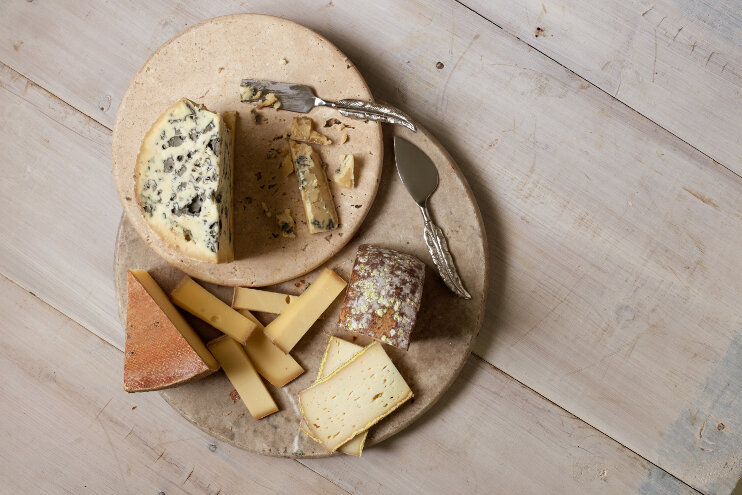 photo of Those funky cheese smells allow microbes to 'talk' to and feed each other image