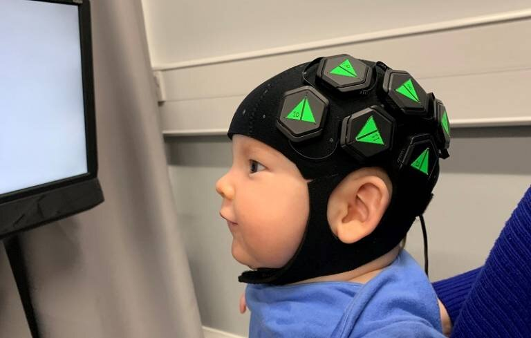 Wearable imaging cap provides a window into babies' brains