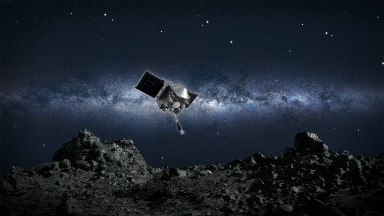 What touching an asteroid can teach us