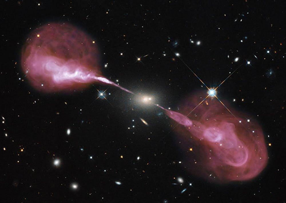 Estos distantes agujeros negros 'bebés' parecen comportarse mal, y los expertos están perplejos