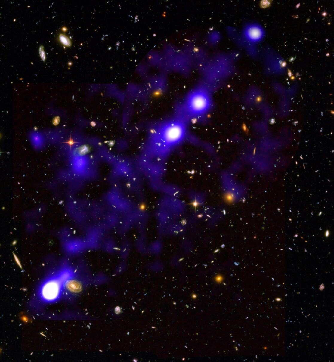 Astronomers map silk of cosmic web