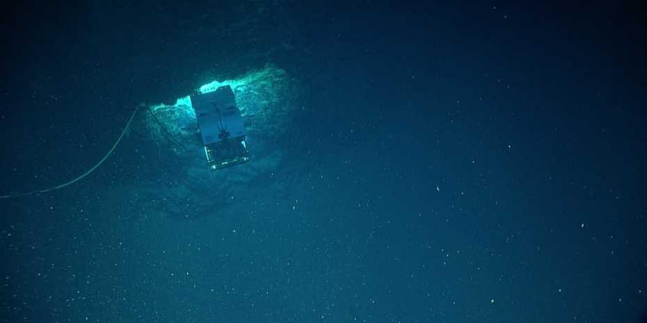A glimpse into the ocean's biological carbon pump