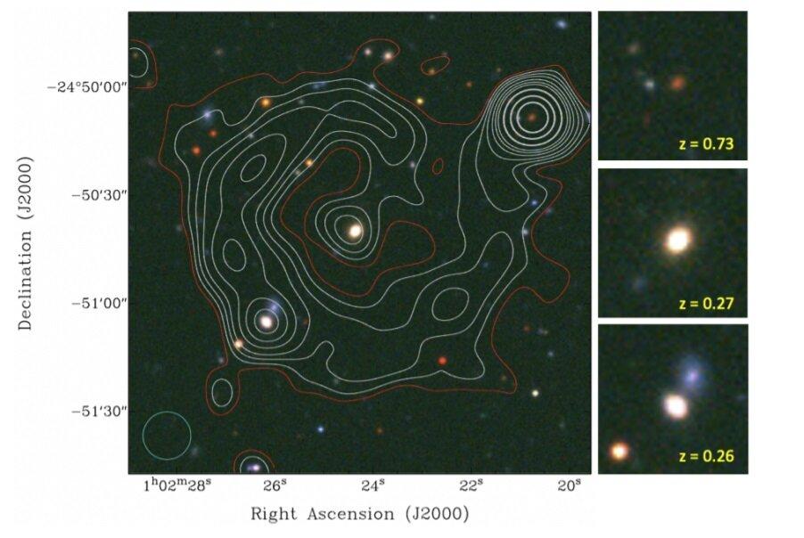 ORC: Descubren nueva fuente de radio circular extragaláctica.