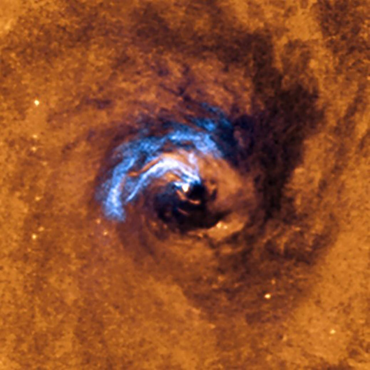 Astronomers discover how to feed a black hole