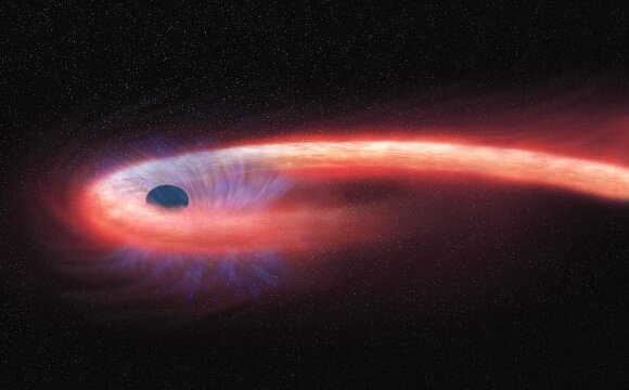 astronomers see first.