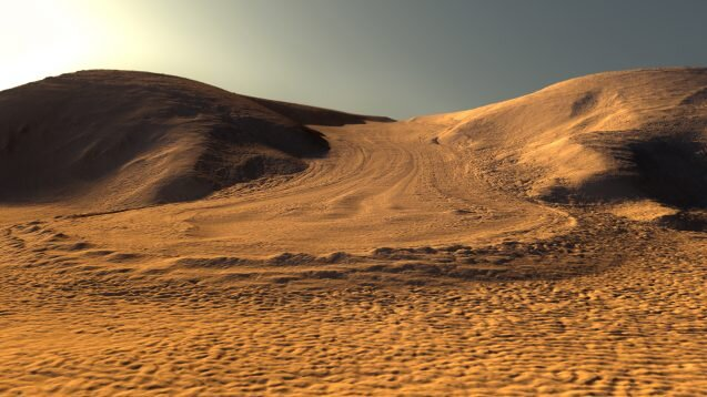 Can a new type of glacier on Mars aid future astronauts?